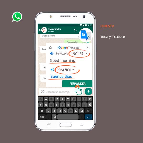 whatsapp venta al extranjero