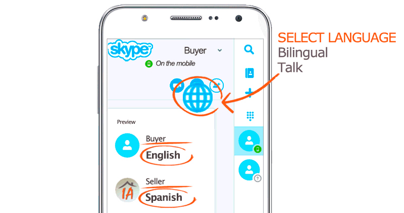 Buy home in spain translate skype