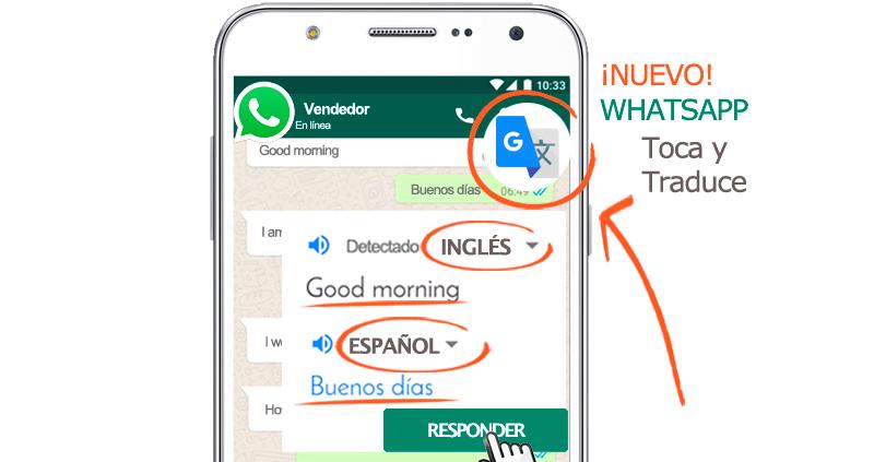venta extranjero casas pisos traduce con whatsapp