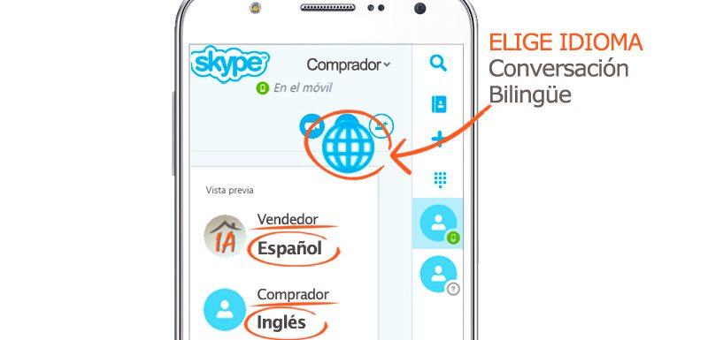 venta extranjero casas pisos traduce idioma skype