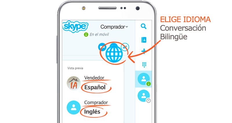 venta extranjero casas pisos traduce skype