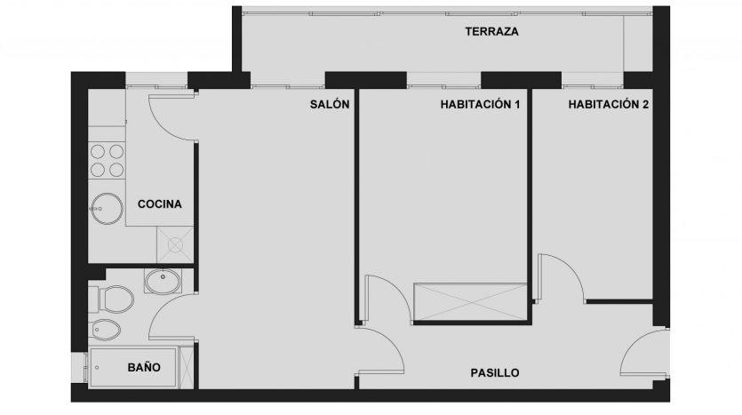 piso en venta usera sin inmobiliarias no alquiler