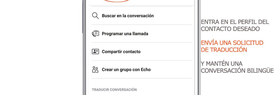 Conversaciones traducidas Skype